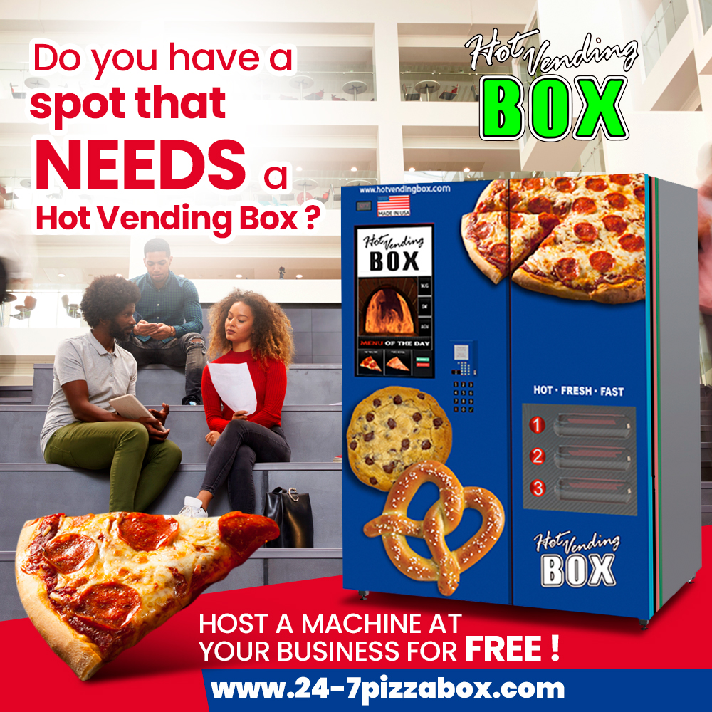 do you need a hot vending box at your school pizza. Black Bedroom Furniture Sets. Home Design Ideas