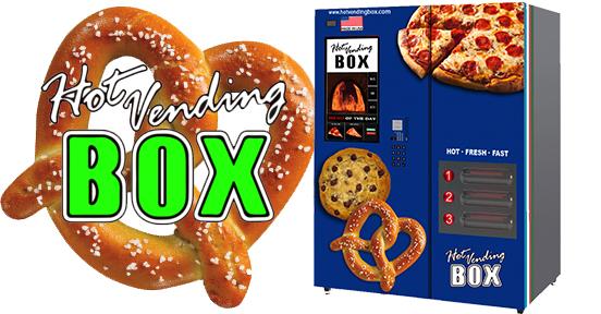 Get a Hot Pretzel Vending Machine at Your Workplace