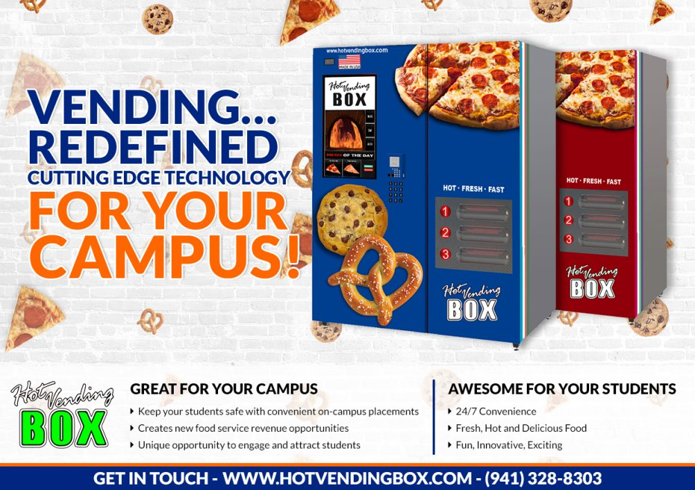 Here's Why Your School Campus Needs a Hot Vending Box