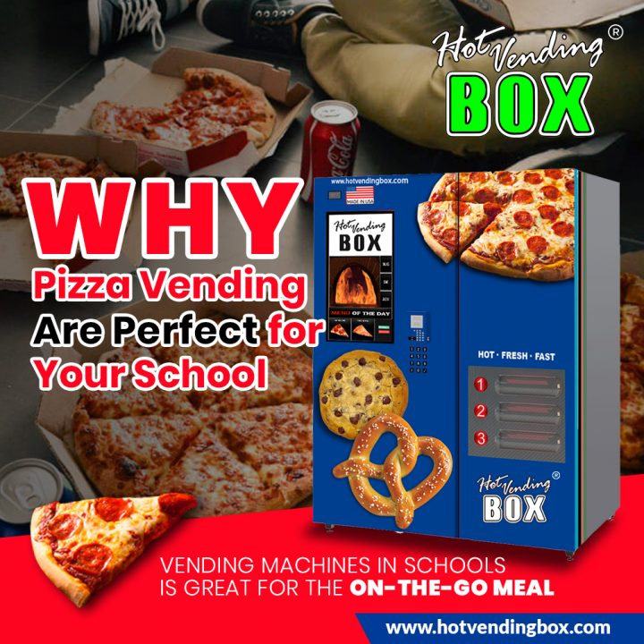 News - Pizza Vending Machine - Hot Vending Box